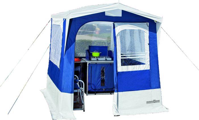 tente de cuisine 200 x 200 cm gusto brunner tonnelles et abris de camping tentes. Black Bedroom Furniture Sets. Home Design Ideas