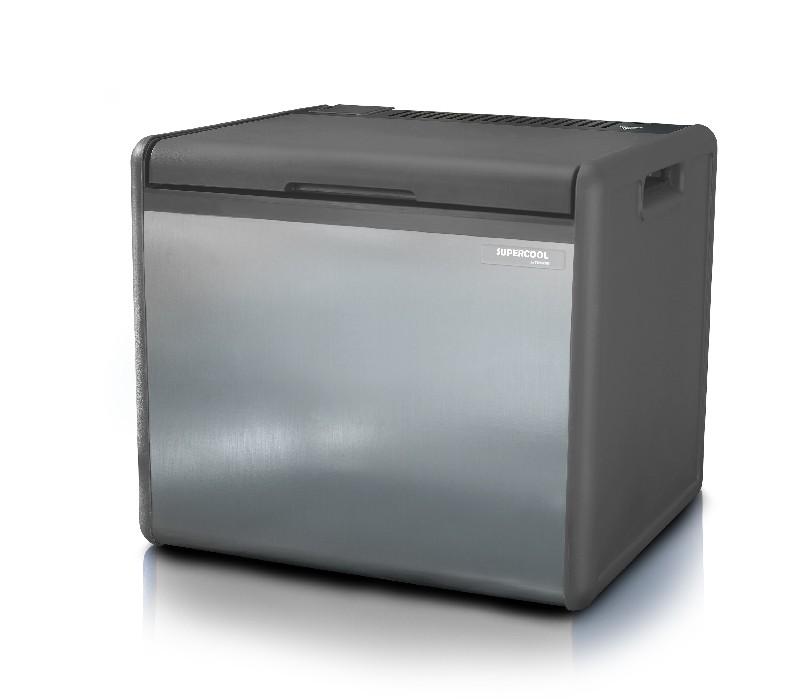 glaci re electrique supercool 39l 12 230v gaz. Black Bedroom Furniture Sets. Home Design Ideas
