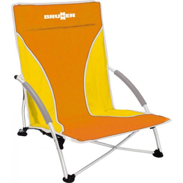 chaise-de-plage-brunner-cuba-orange-0404147N.C11