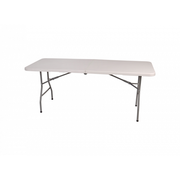Table pliable Raviday Blanche XL