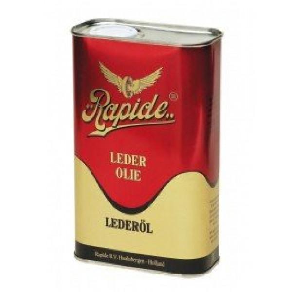 Bidon d'huile pour cuir marron 1000 ml - RAPIDE