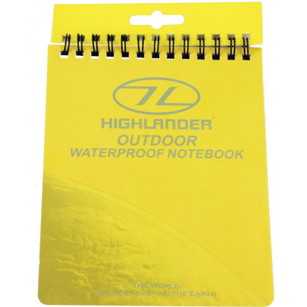 Bloc-notes Highlander waterproof