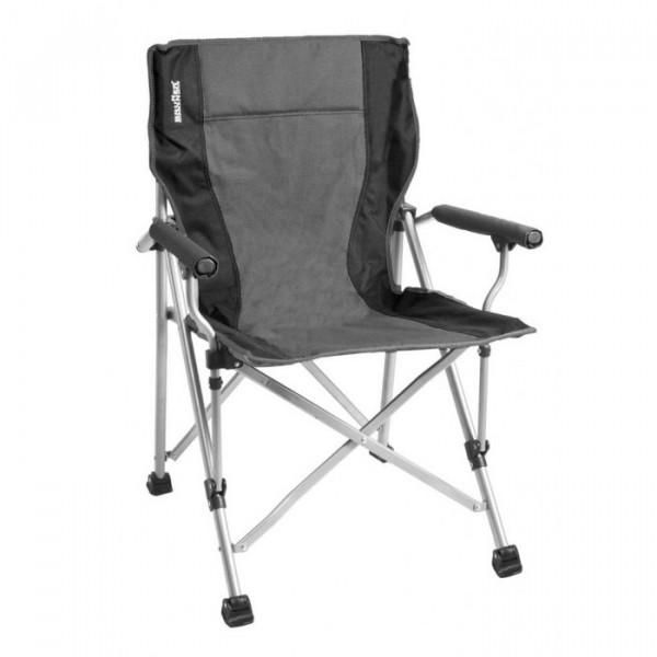 Chaise de camping Brunner Raptor Grise/Noire