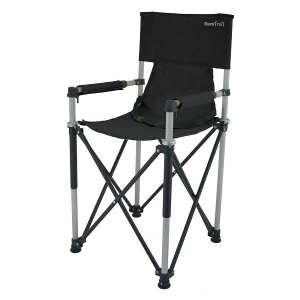 chaise-de-camping-pour-enfant-eurotrail-noire-ETCF0891
