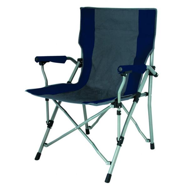 fauteuil-pliable-bolzano-noir-charbon-eurotrail-ETCF1081N/C-1