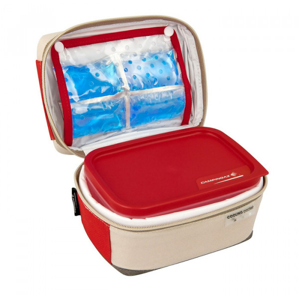 Glacière souple Freez'Box 3L Plus Red + Flexi Freez pack