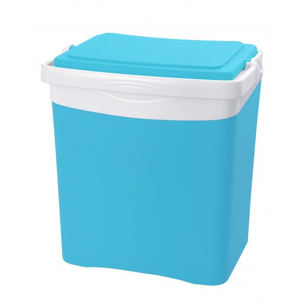 """Glacière EDA Plastiques """"Tropic"""" 25L Bleu turquoise"""