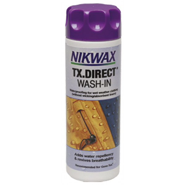 "Nikwax ""wash in TX direct"" 300ml, Imperméabilisant pour vêtements waterpoof"