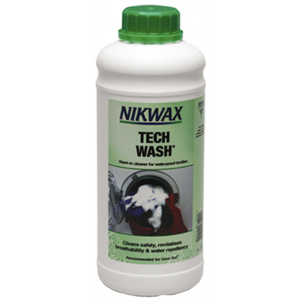 "Lessive sans détergent Nickwax ""Tech Wash"" 1L"