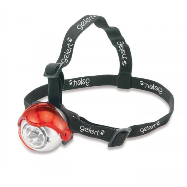 Mini lampe frontale 5 LED Gelert