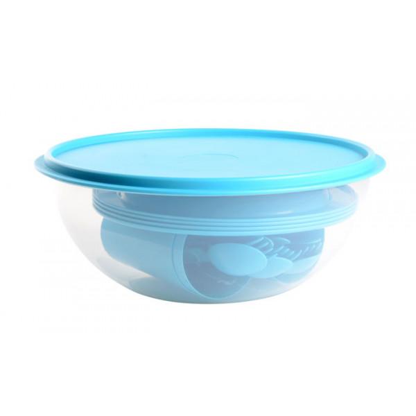 Pack saladier pique-nique Eda bleu