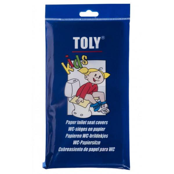 Protection pour siège WC en papier Toly version enfant x30