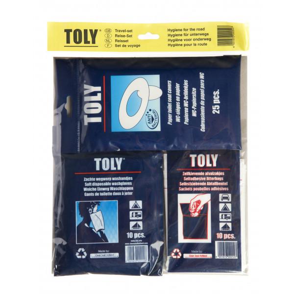 Set hygiénique de voyage - TOLY