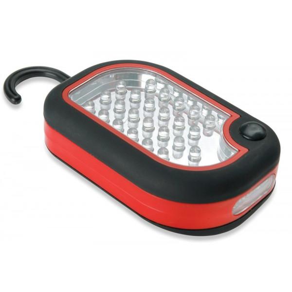 Lampe torche de camping avec crochet 24 LED