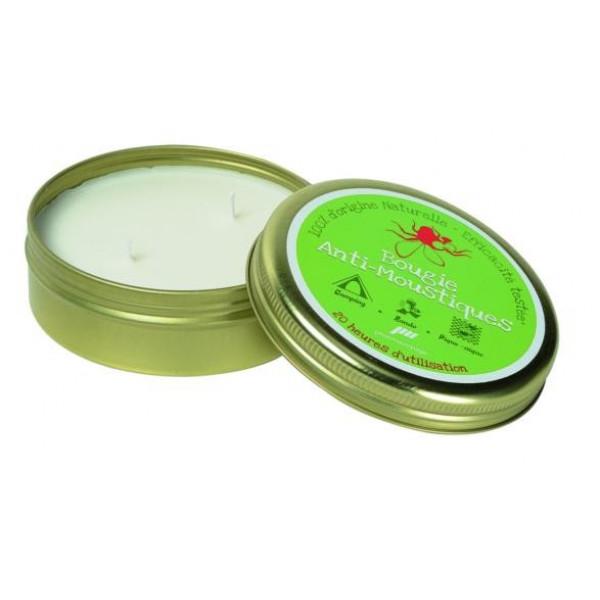 Bougie anti-moustiques Pharmavoyage 100% naturelle