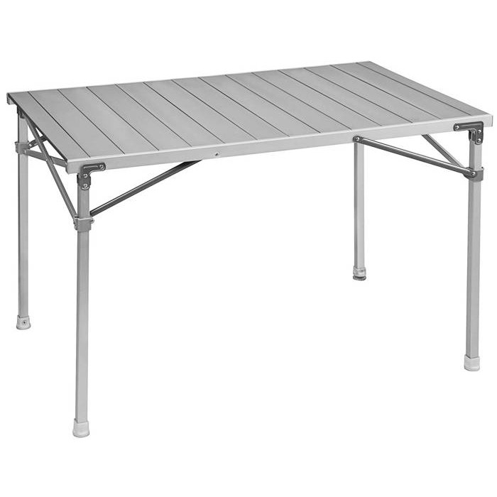 Table de camping brunner titanium quadra 4 raviday camping for Table titanium quadra 6 personnes
