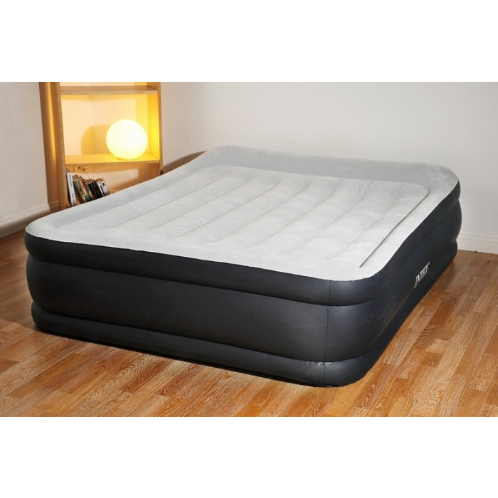 matelas gonflables deux personnes intex pillow deluxe. Black Bedroom Furniture Sets. Home Design Ideas