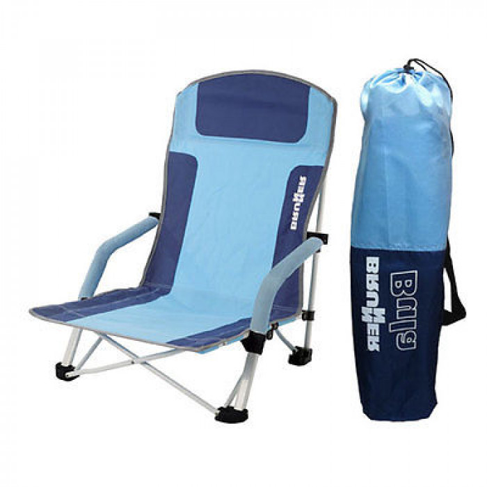 Chaise de plage brunner bula bleue raviday camping for Chaise de plage