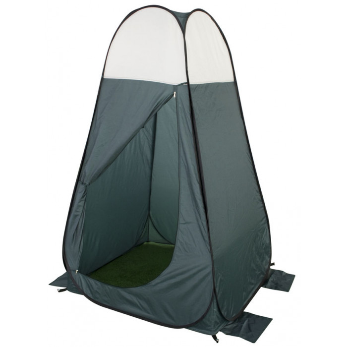 Tente cabine douche changement de tenue eurotrail pop up - Decathlon tente plage ...