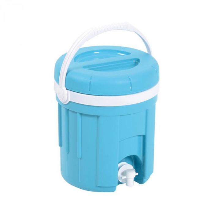 Fontaine isotherme 4 litres bleu EDA Plastiques