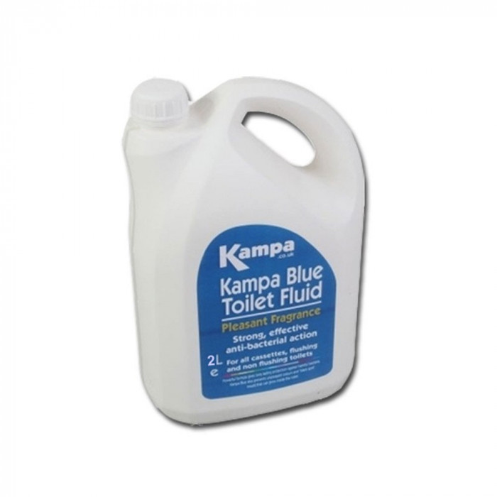 additif wc chimique kampa blue toilet fluid 2 litres. Black Bedroom Furniture Sets. Home Design Ideas