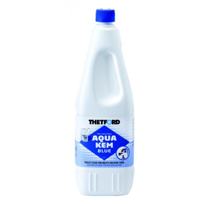 Thetford aqua kem blue 2l produit dissolvant wc chimique bleu - Produit pour wc chimique ...
