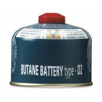 Cartouche gaz à valve Gelert Butane / Propane 230g