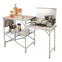 Meuble de cuisine au camping Kampa Colonel