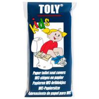 Protection pour siège WC Toly en papier x10