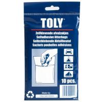 Sachet poubelle adhésif Toly x10