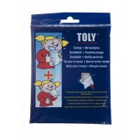 Sachet pour la nausée et gant de toilette humide Toly