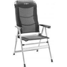 Chaise de camping Brunner Kerry slim grise/noire