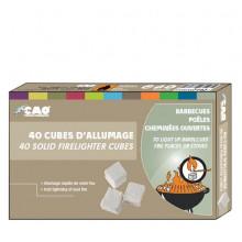 Paquet de 40 cubes d'allumage Cao