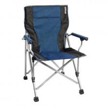 Chaise de camping pliante Brunner Raptor Grise/Bleue
