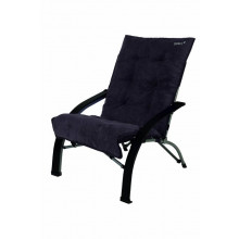 Chaise rembourrée Anthracite Gelert