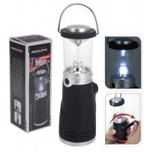 Lanterne pour le camping 4 LED à manivelle Raviday