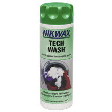 "Nikwax ""Tech Wash"", Lessive fibres synthétiques 300ml"
