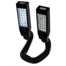 Lampe double Highlander 42 LED Twin end