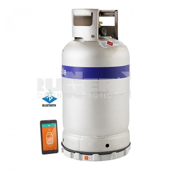Balance électronique connectée pour bouteille de gaz Brunner W8