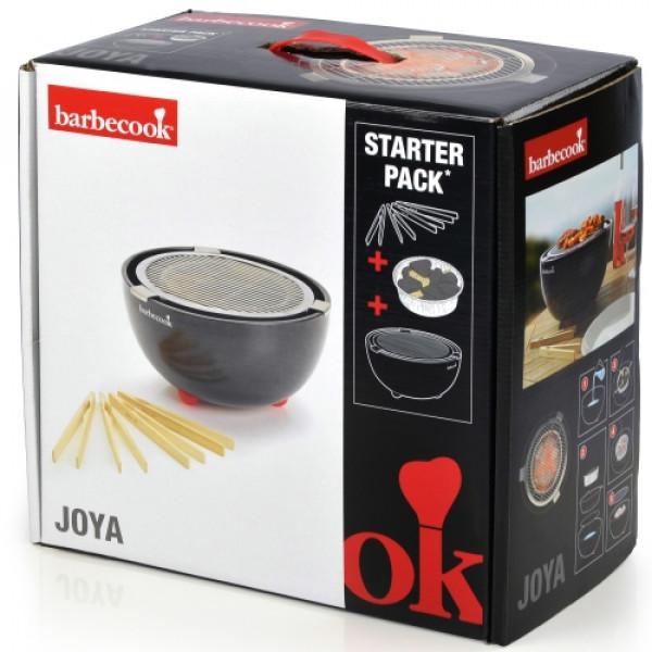 Barbecue de table au charbon Joya Barbecook boite