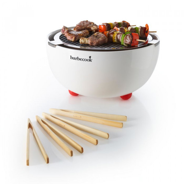 Barbecue de table au charbon Joya blanc Barbecook