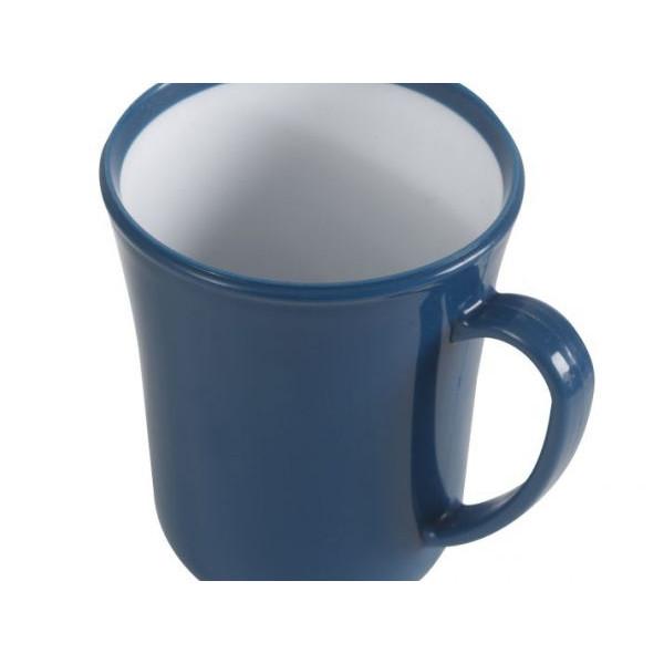 Service à vaisselle mélamine 12 pièces Dinner Set Bleu