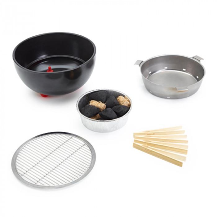 Barbecue de table au charbon Joya Barbecook éléments