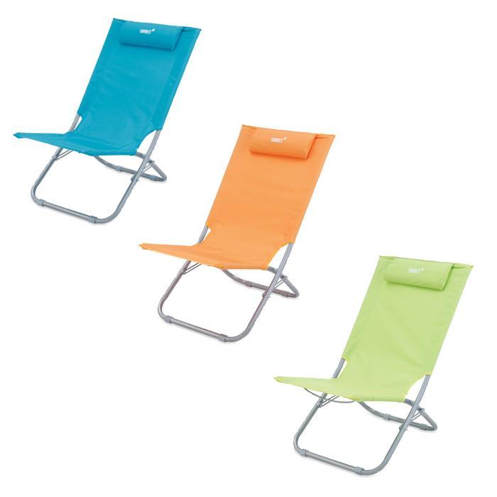 Chaise de plage gelert dune raviday camping for Chaise de plage ikea